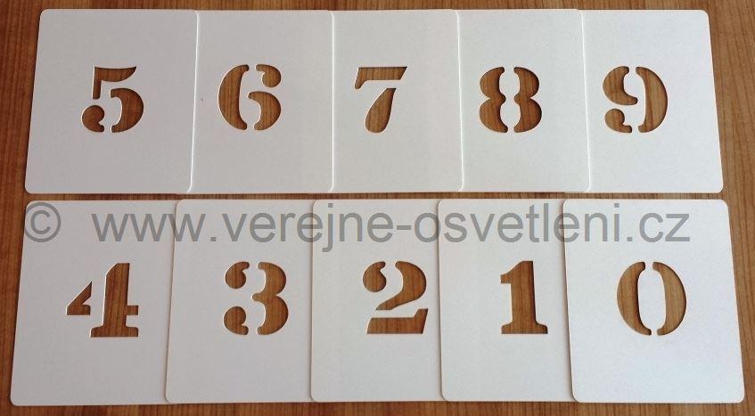 Číselná šablona