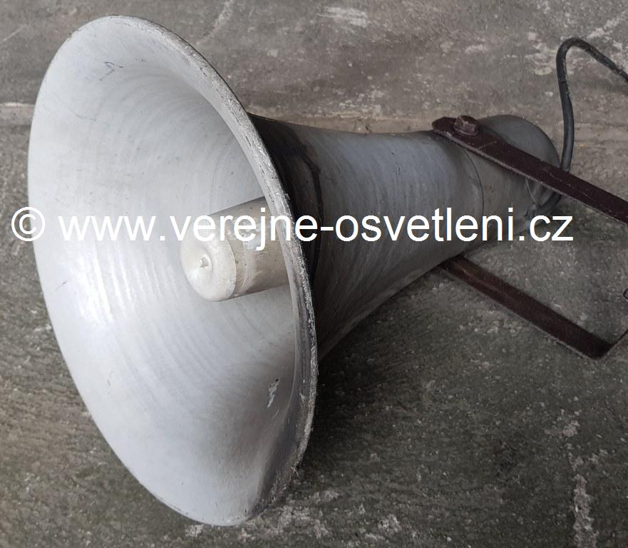 Amplion talkový tlampač malý hlinikový