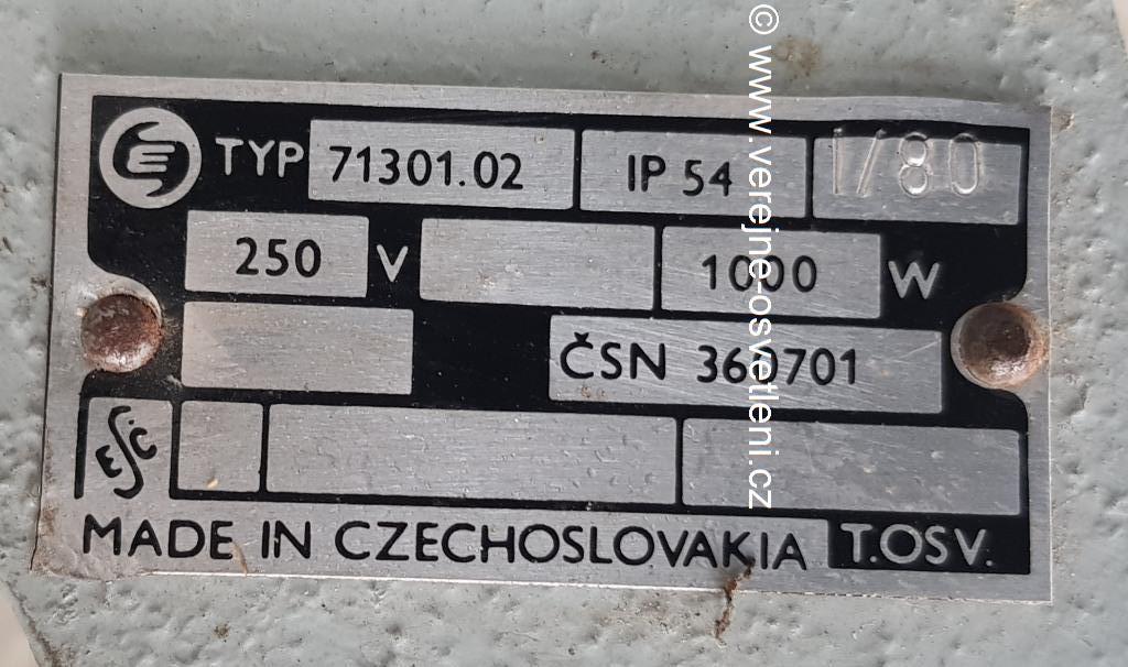 Elektrosvit typ 71301.02 RVIL 1000W