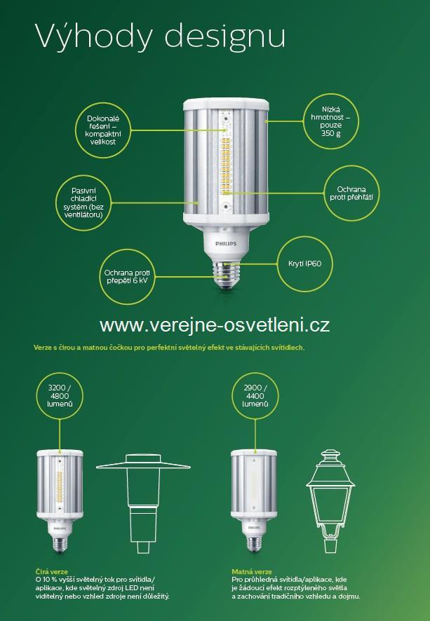 Náhrada LED za výbojku Philips výhody